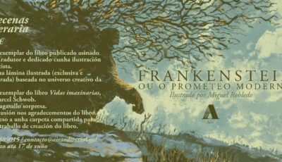 Frankenstein ou o Prometeo moderno, ilustrado por Miguel Robledo