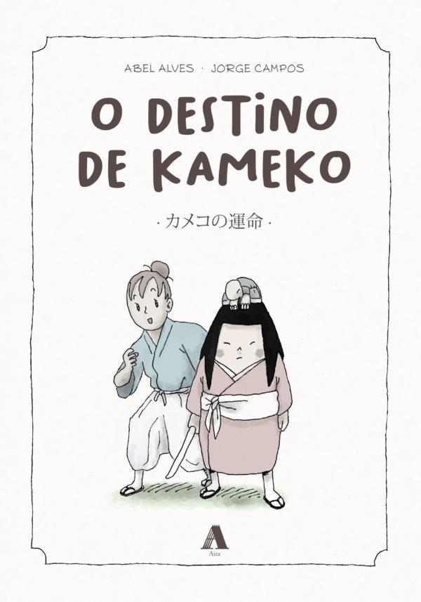 O destino de Kameko -Portada